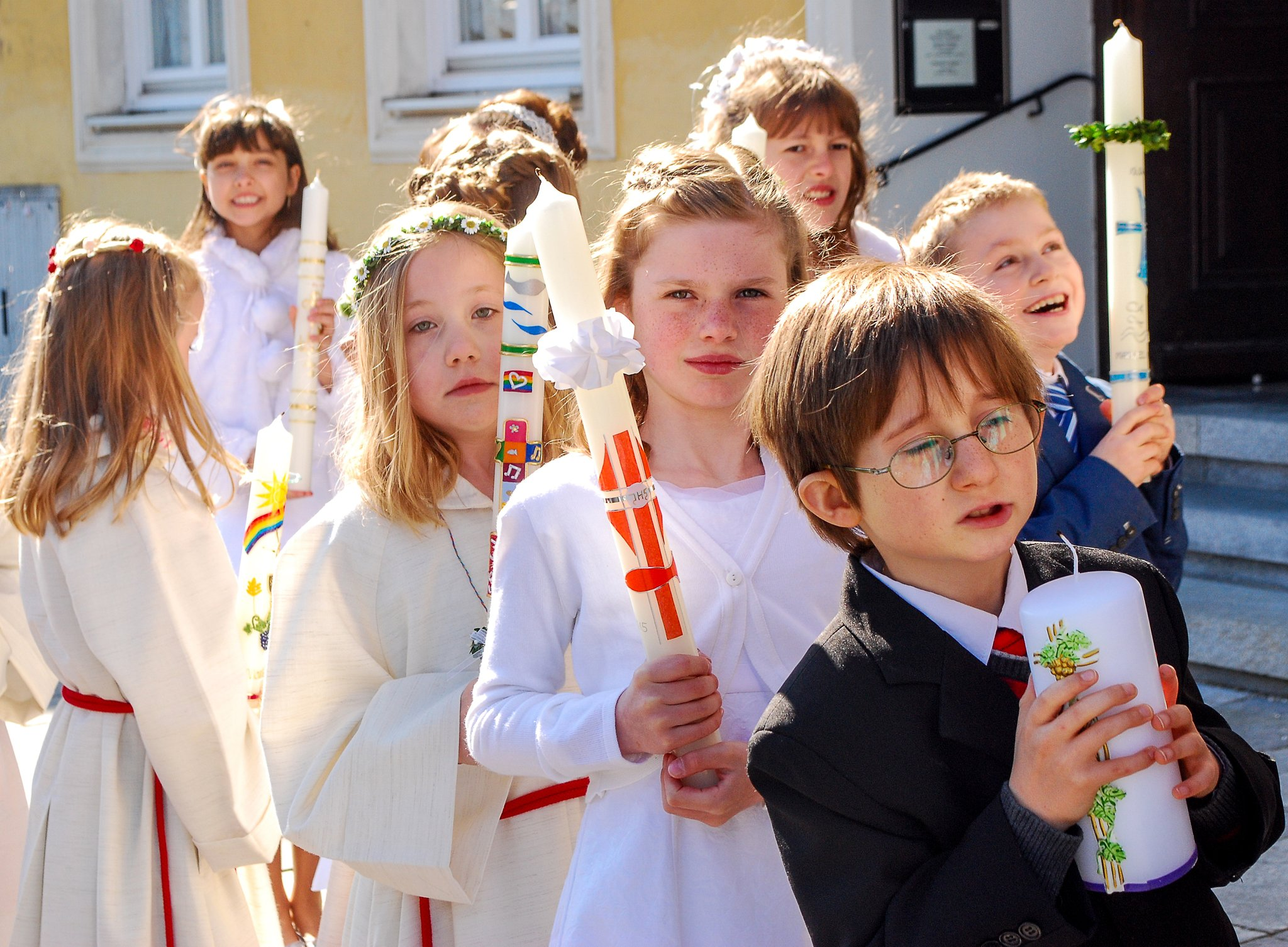 Zentrale Sakramente: Erstkommunion und Firmung: Wie geht es