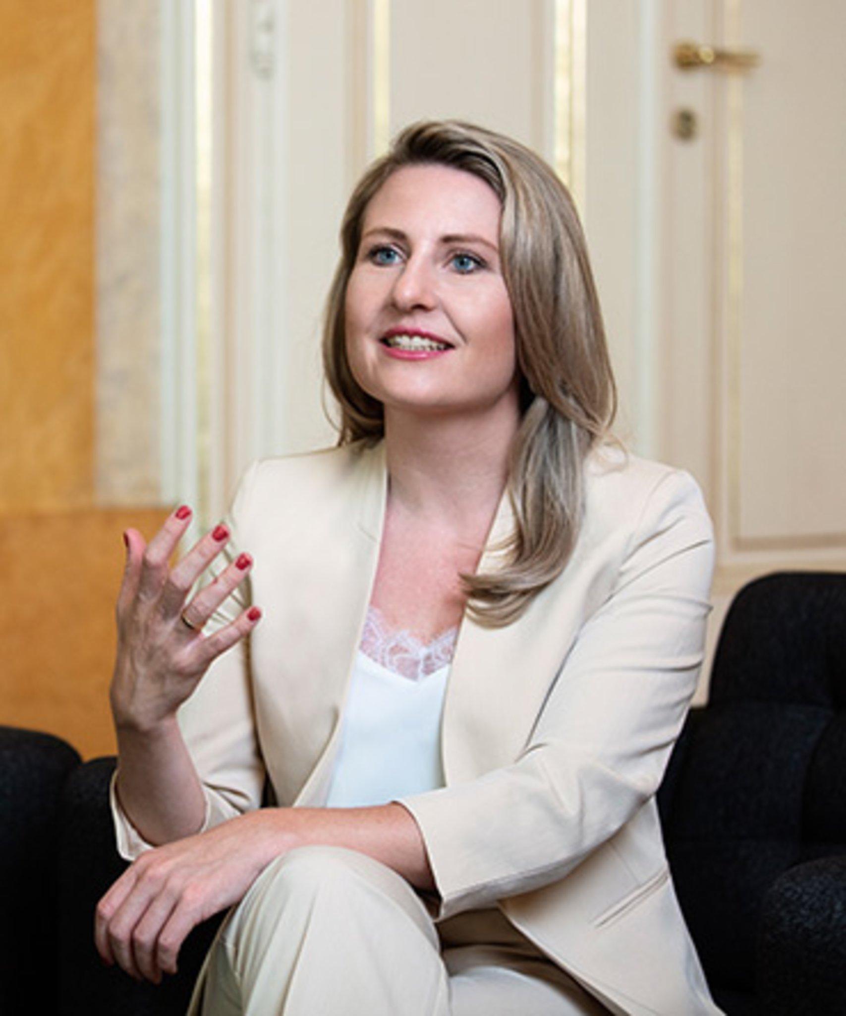Bundesministerin Susanne Raab