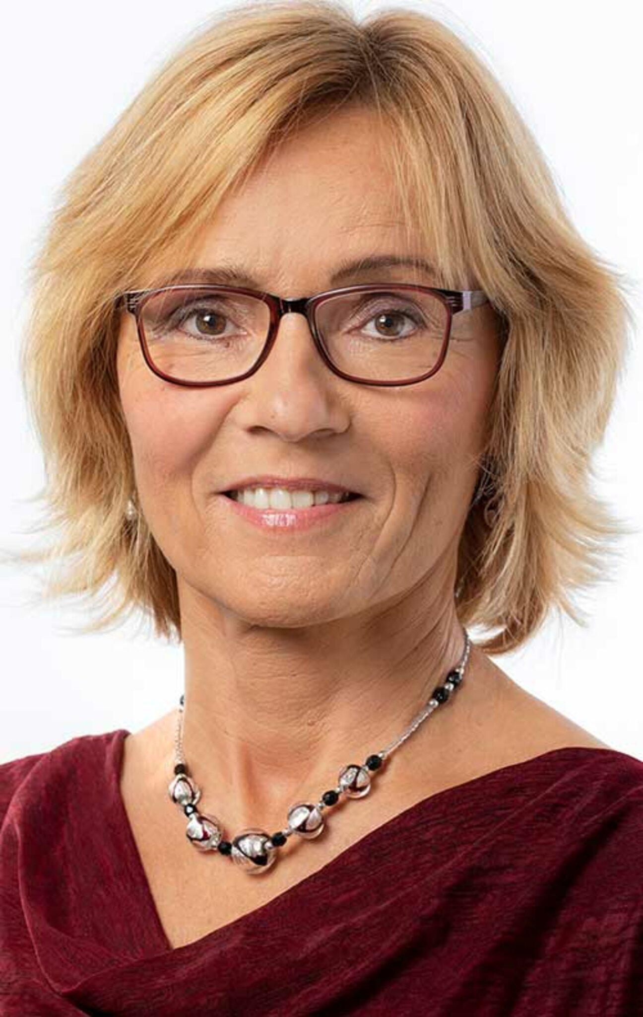 """Eva-Maria Nadler, Leiterin der """"Kontaktstelle für Alleinerziehende""""."""