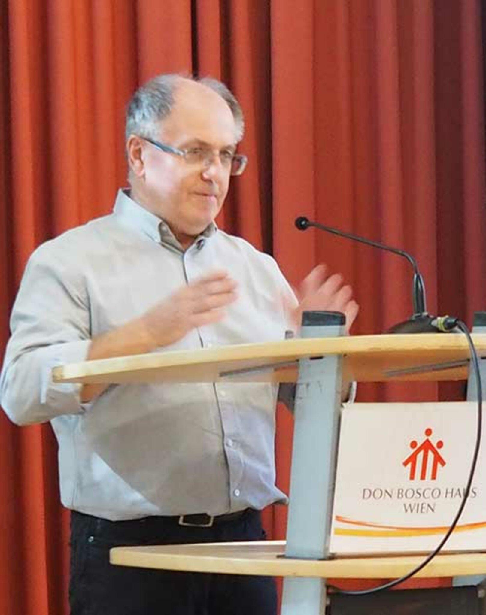 Helmut Angel Salesianischer Mitarbeiter Don Boscos seit 1991