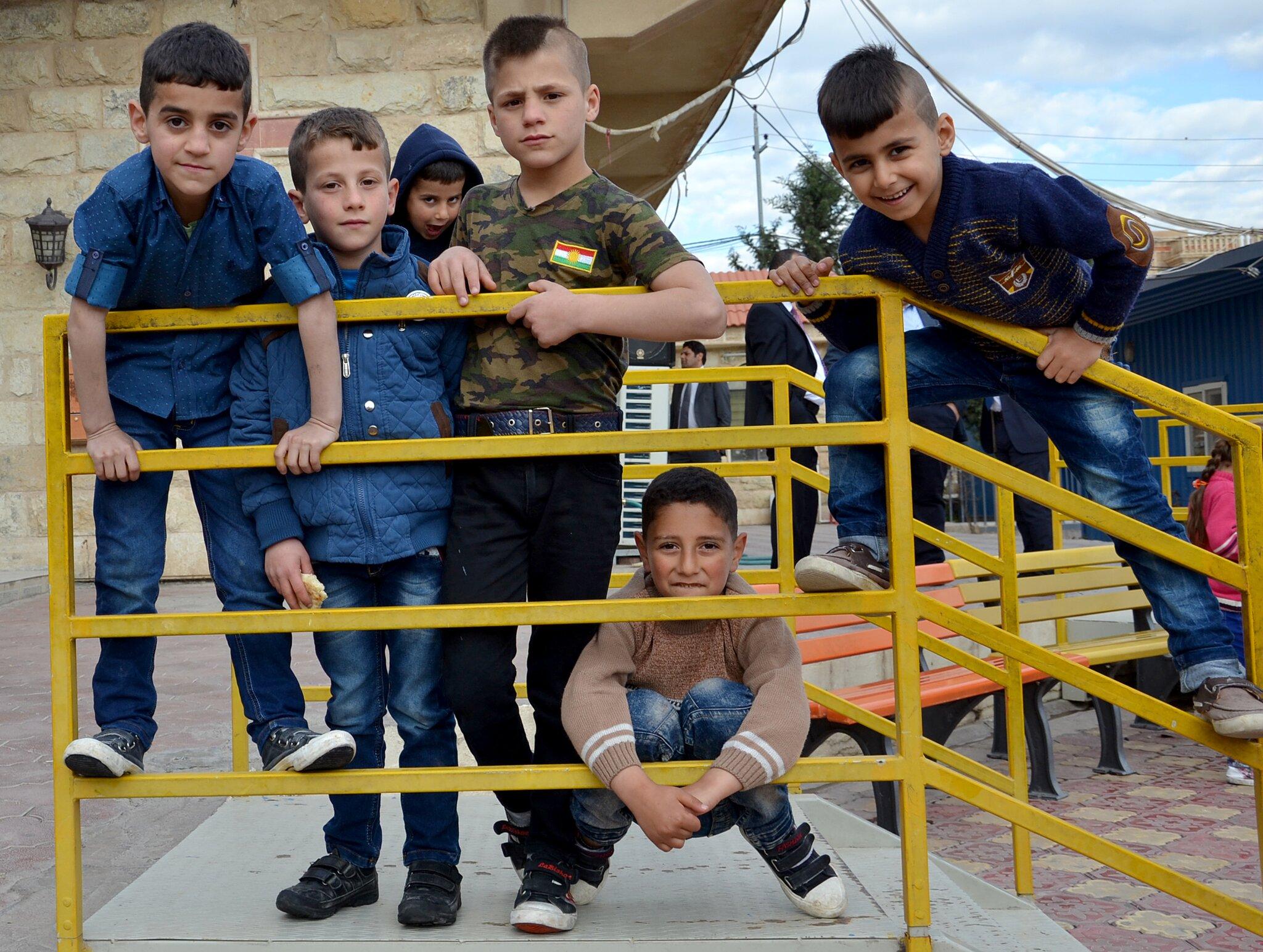 Christliche Flüchtlingskinder in Erbil (c) ICO